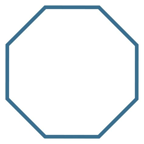 octagon template octagon shape related keywords octagon shape