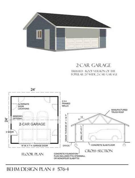 double car garage plans 17 images about garage plans by behm design pdf plans