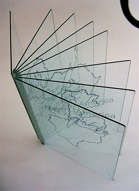 Novel Glass glass artist book on behance