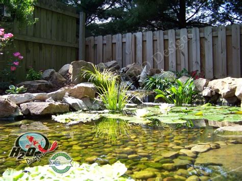 Small Garden Pond Design Ideas Koi Pond Backyard Pond Small Pond Ideas For Your Kentucky Landscape Louisville By H2o Designs