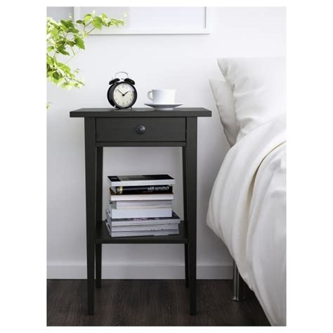 White Ikea Nightstand Fascinating Hemnes Nightstand White Ikea White Nightstand With Pull Out Tray Nightstand Ideas