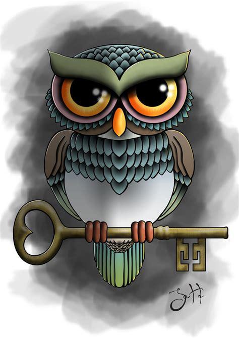 tattoo flash owl owl tattoo flash by jhultdin on deviantart