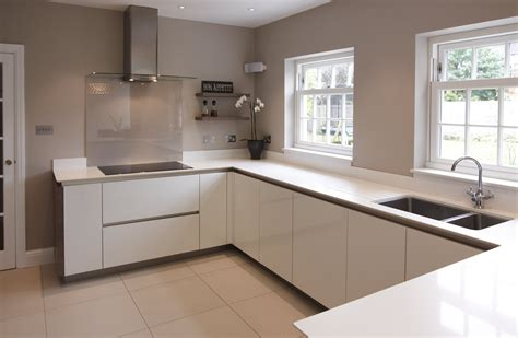 glossy white kitchen cabinets kitchen cabinets limerick quicua