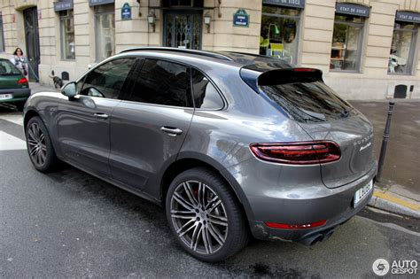 porsche macan turbo 2016 porsche 95b macan turbo 17 avril 2016 autogespot