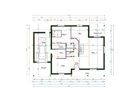 plans in plan maison