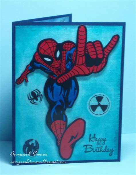 printable birthday cards spiderman spiderman birthday cards new calendar template site