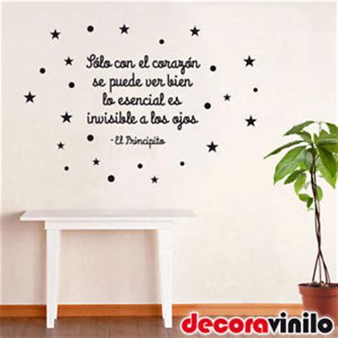 ideas que pegan pdf vinilo decorativo de pared frase bonita el principito