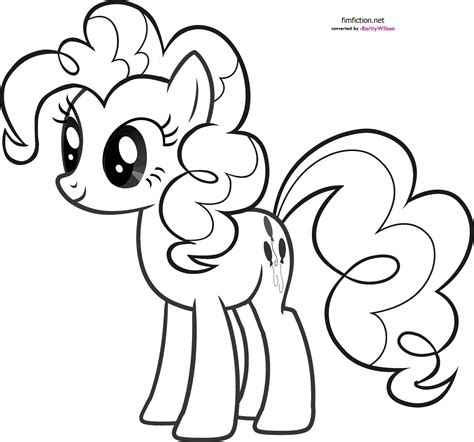 My Pony Pinkie Pie Coloring Pages My Little Pony Coloring Pages Team Colors