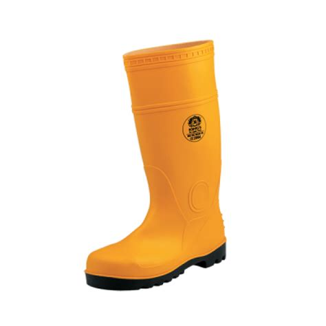 safety boot petrova yellow king s pvc safety boots kv20yx yellow toe cap only