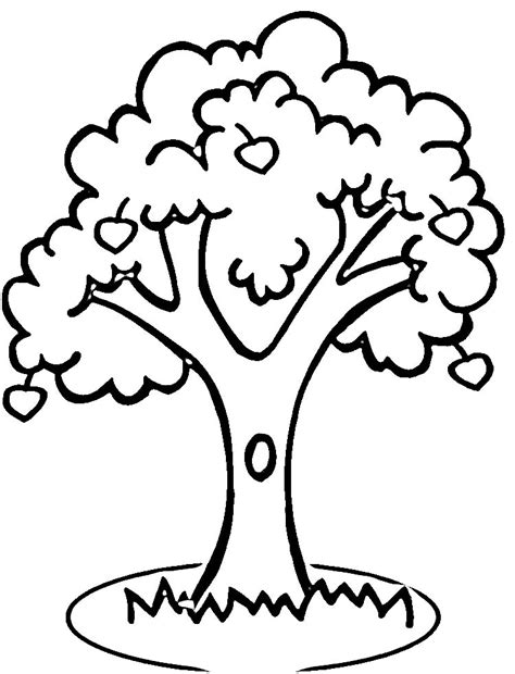 pages for apple tree coloring pages az coloring pages