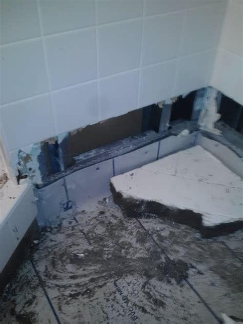 bathroom leak shower pan leak 101 moen brothers plumbing drain llc 239 567 9933 naple s 1