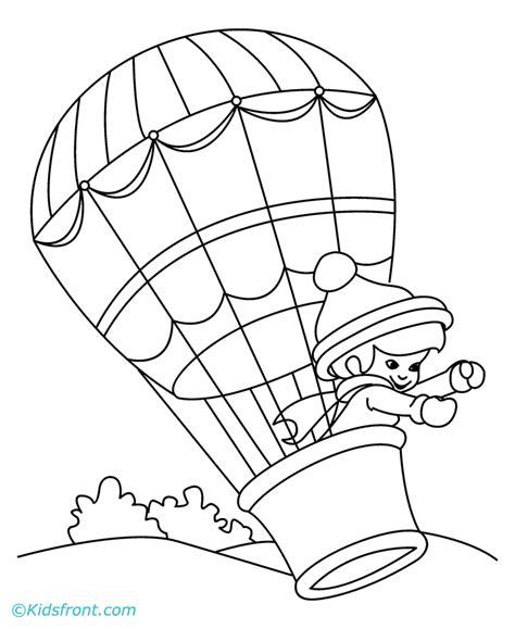 coloring book pages hot air balloon hot air balloons coloring pages coloring home
