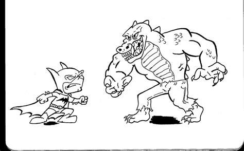 batman killer croc coloring pages coloring pages