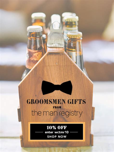 Wedding Gift Ideas For Groomsmen by Groomsmen Gift Ideas From The Registry