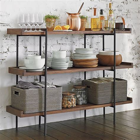 crate and barrel beckett 3 high shelf crate and barrel home closets