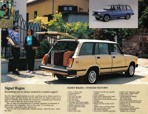 Lada A Canada 1986 Lada Brochure