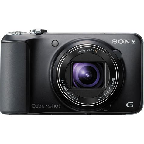 Digital Sony sony cyber dsc hx10v digital black dschx10v b b h
