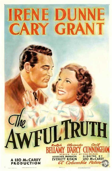 film comedy oscar awful truth 1937 leo mccarey brilliant oscar winning