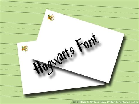 Do College Acceptance Letters Come In Small Envelopes how to write a harry potter acceptance letter 6 steps