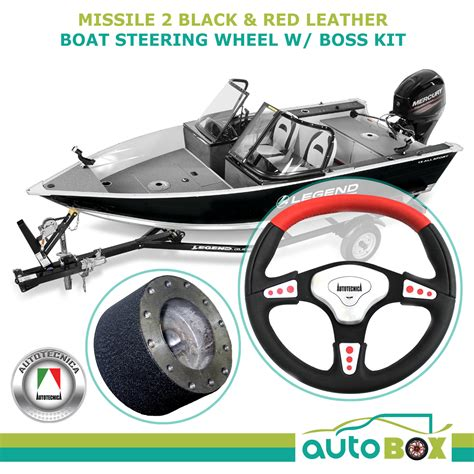 boat steering wheel leather leather boat sports steering wheel with 3 4 morse keyway