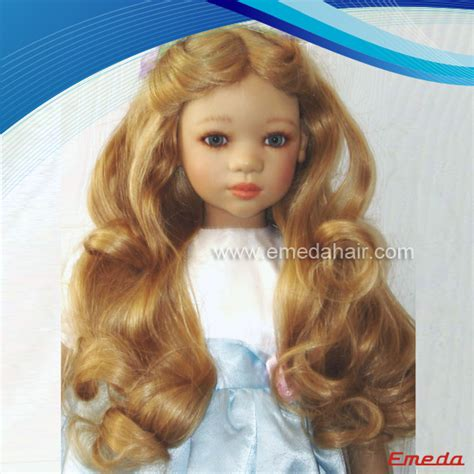 Human Hair Doll For by Doll Wigs Human Hair