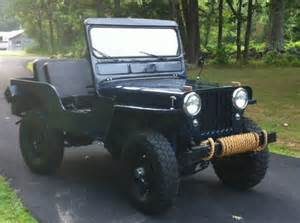 1949 Willys Jeep Sell Used 1949 Jeep Willys Cj 3a In Athol Massachusetts