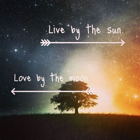 live by the sun love by the moon tattoo live by the sun by the moon la y el sol