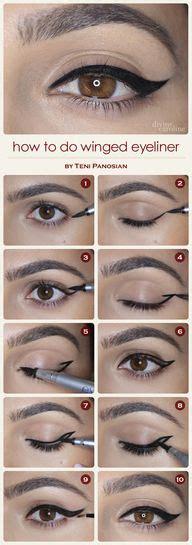 tutorial eyeliner in crema come mettere l eyeliner passionando