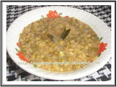cara membuat bubur kacang hijau ala chef dapurku surgaku bubur kacang hijau ketan putih