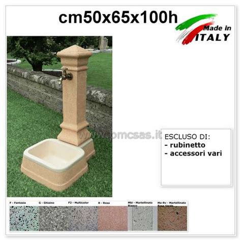 fontane da terrazzo fontana da giardino pmc prefabbricati e arredo giardino
