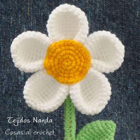 flores de crochet flores tejidas al crochet en macetas de barro crochet