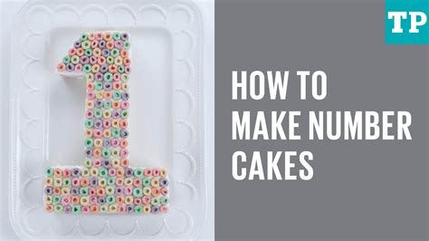 how to make a cake how to make number cakes