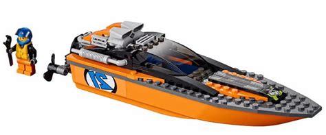 Lego City 60085 4x4 With Powerboat Set Power Motorcar Truck Boat lego 60085 4 215 4 with powerboat i brick city