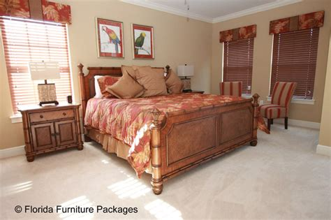 Florida Bedroom Furniture Island Feel Tropical Bedroom Orlando By Florida Furniture Packages