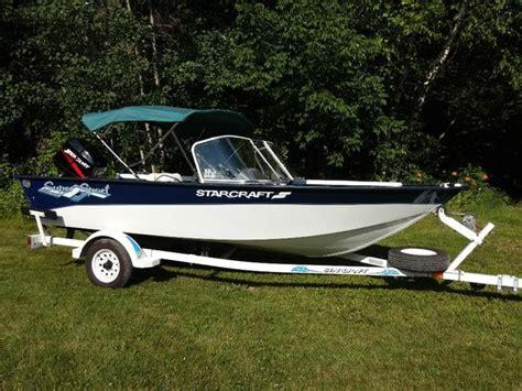 starcraft boats bc like new 16ft aluminum starcraft boat 2003 40hp mercury