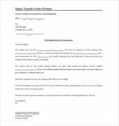 Application Letter Format For Transfer Doc 595869 Application For Salary Revision Bizdoska Com