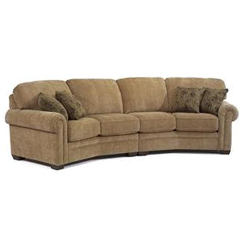 Flexsteel Curved Sofa Conversation Sofas Washington Dc Northern Virginia Maryland And Fairfax Va Conversation