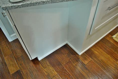 Trim Around Kitchen Cabinets Another Kitchen Project Done Loving Here