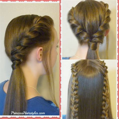 and easy hairstyles for school photos 3 easy back to school hairstyles part 2 hairstyles for princess hairstyles