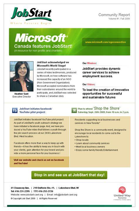 Newsletter Layout Software | newsletter design software