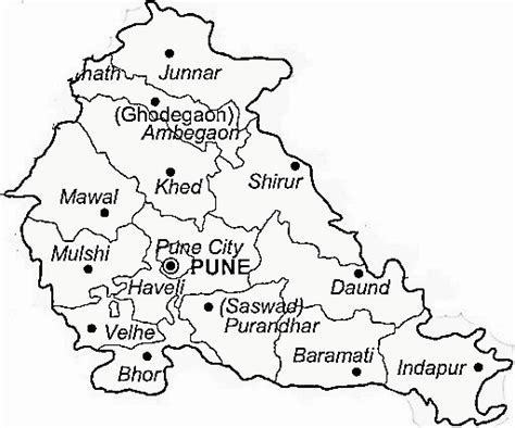 Villa In Mumbai by Pune District Pune District Map