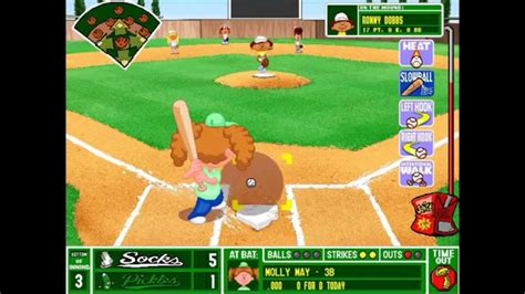 backyard baseball pc game backyard baseball league pc tournament game 16