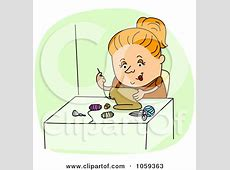 Clipart Happy Blond Fashion Designer Holding Scissors And ... Free Digital Clip Art Maker