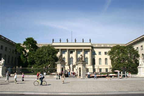 Bewerbung Uni Hu Berlin Humboldt Universit 228 T Zu Berlin Hauptgeb 228 Ude Unter Den Linden 6