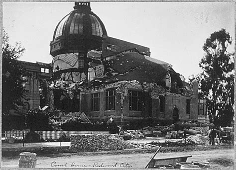 San Francisco Court Records San Francisco Earthquake Pictures