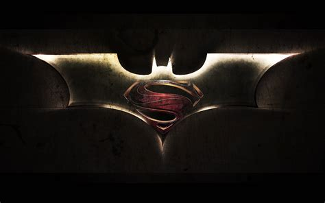 wallpaper of batman symbol superman and batman logo wallpapers wallpaper cave