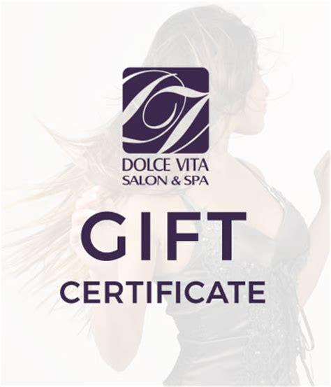 dolce vita salon spa mcleans favorite hair salon dolce vita gift certificate dolce vita salon spa