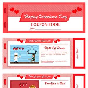 S Day Coupon Template by S Day Coupon Book For Pages Pdf Mactemplates