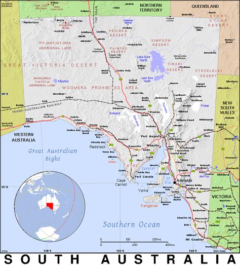 Section Maps South Australia by Section Maps South Australia Map