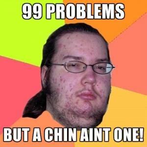 Double Chin Meme - chin jokes kappit